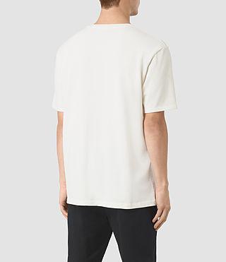 Hombre Command Crew T-Shirt (Chalk) - product_image_alt_text_3