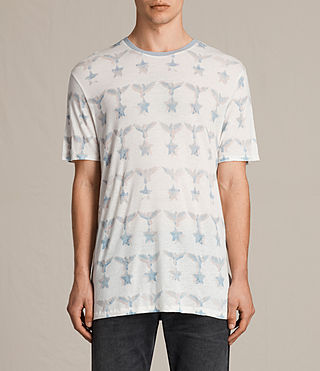 Men's Lone Star Crew T-shirt (Chalk White)