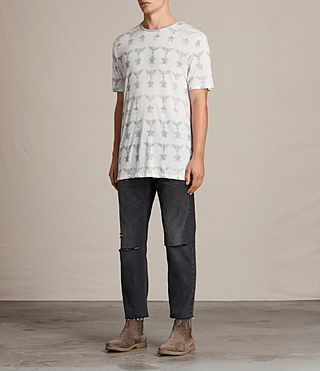 Hommes T-shirt Lone Star (Chalk White) - product_image_alt_text_3
