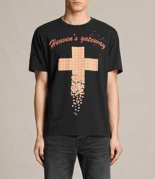 Mens Gateway Crew T-Shirt (Vintage Black)