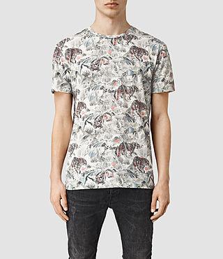 Mens Orientalis Crew T-Shirt (Chalk White)