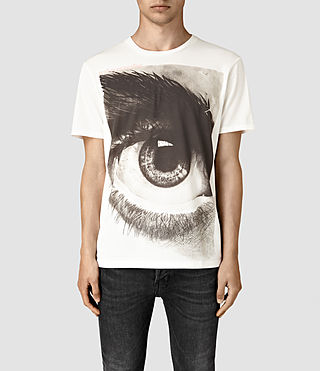 Hommes Realise Crew T-Shirt (Chalk White)