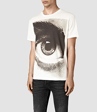 Hombre Realise Crew T-Shirt (Chalk White) - product_image_alt_text_3