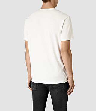 Hombre Realise Crew T-Shirt (Chalk White) - product_image_alt_text_4