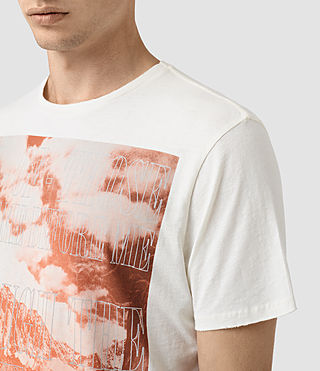 Mens Mountain Crew T-Shirt (Chalk) - product_image_alt_text_2