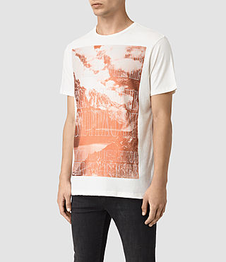 Hombre Mountain Crew T-Shirt (Chalk) - product_image_alt_text_3