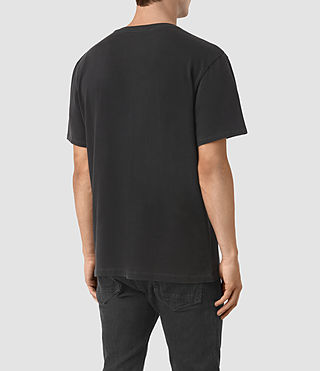 Men's Neue Crew T-Shirt (Vintage Black) - product_image_alt_text_3