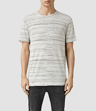 Mens Weave Ss Slouch (Chalk White)