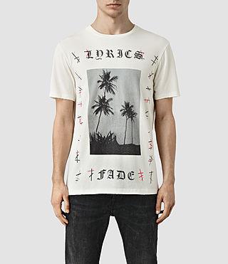 Mens Lyric Crew T-Shirt (Chalk White)