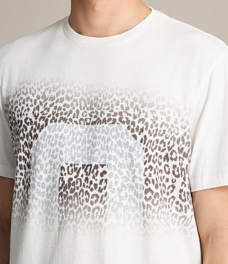 Hombres Camiseta Zeroes (CHK WHITE/INK NAVY) - product_image_alt_text_2