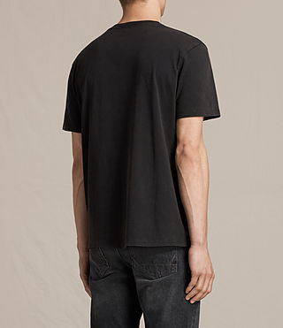 Men's Zeroes Crew T-Shirt (VNTG BLK/JET BLACK) - product_image_alt_text_4