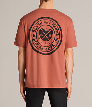 Men's Fraternity Switch Crew T-Shirt (Red) - Image 5