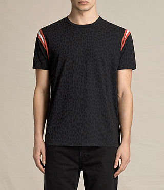 Uomo T-shirt Prowl (Vintage Black)