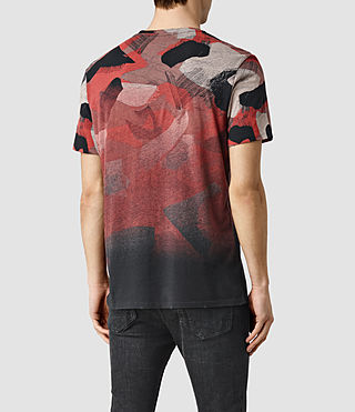 Mens Fragment Camo Crew T-Shirt (Vintage Black) - product_image_alt_text_3