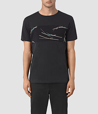 Uomo Moreland Twelve Crew T-Shirt (Black) -