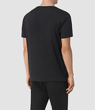 Herren Moreland Twelve Crew T-Shirt (Black) - product_image_alt_text_3