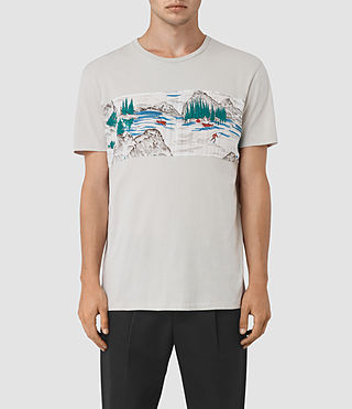Men's Canada Twelve Crew T-Shirt (Ash Grey)