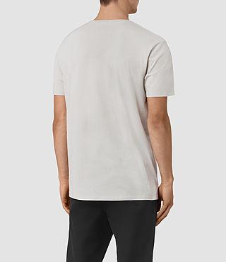 Hommes Canada Twelve Crew T-Shirt (Ash Grey) - product_image_alt_text_3