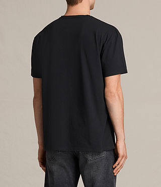 Uomo Skies Crew T-Shirt (Vintage Black) - product_image_alt_text_4