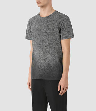 Hombres Camiseta Mono Guage (VNTG BLK/LIGHT GRY) - product_image_alt_text_2