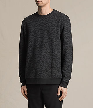 Mens Prowl Crew Sweater (Vintage Black) - product_image_alt_text_3
