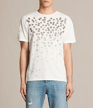 Men's Sirius Crew T-Shirt (Chalk White)