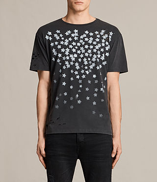 Men's Sirius Crew T-Shirt (Vintage Black)
