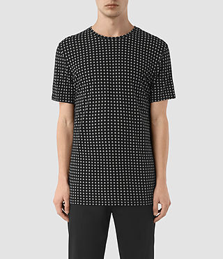 Uomo T-shirt Teardrop (Jet Black)