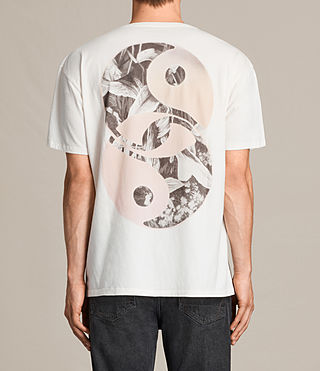 Men's Gardyin Crew T-Shirt (Chalk White) - product_image_alt_text_2