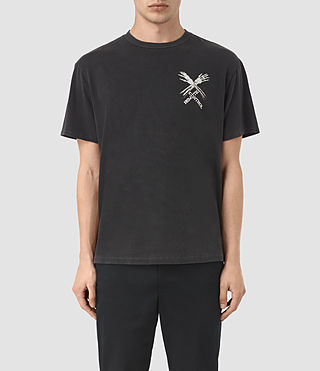 Men's Remote Crew T-Shirt (Vintage Black)