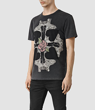 Men's Kreuz Crew T-Shirt (Vintage Black) - product_image_alt_text_2