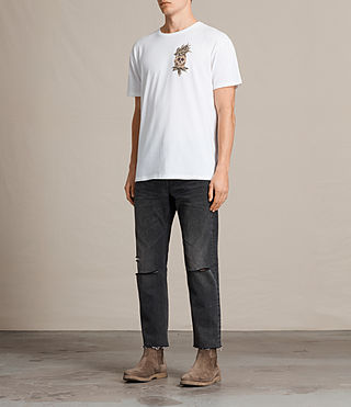 Men's Fineapple Switch T-Shirt (Optic White) - product_image_alt_text_3