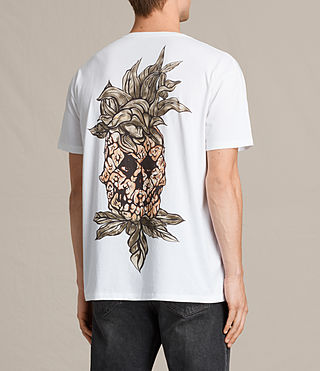 Men's Fineapple Switch T-Shirt (Optic White) - product_image_alt_text_4