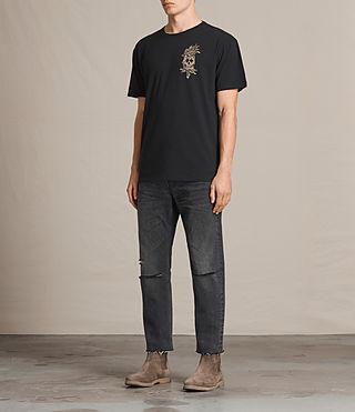 Men's Fineapple Switch T-Shirt (Black) - Image 3