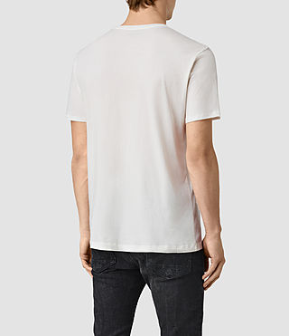 Herren Waikiki Crew T-Shirt (Chalk White) - product_image_alt_text_3