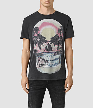 Men's Waikiki Crew T-Shirt (Vintage Black)