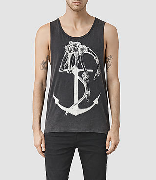 Mens Hope Tank (Vintage Black)