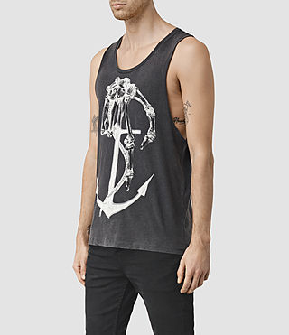 Mens Hope Tank (Vintage Black) - product_image_alt_text_2