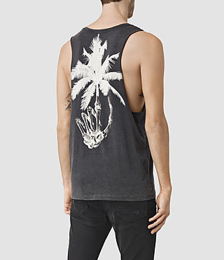 Mens Hope Tank (Vintage Black) - product_image_alt_text_3