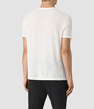 Men's Martins Stitch Crew T-Shirt (Chalk White) - product_image_alt_text_4