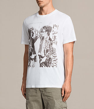Mens Road Crew T-Shirt (Optic White) - product_image_alt_text_4