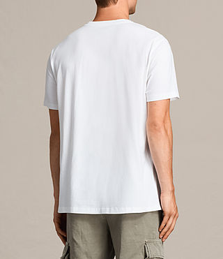 Mens Road Crew T-Shirt (Optic White) - product_image_alt_text_5