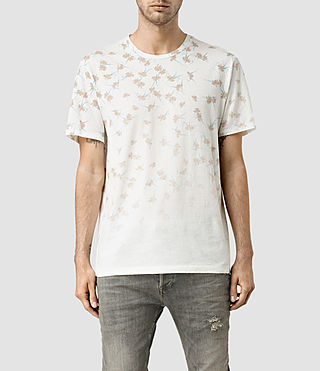 Hombre Aaru Ss Crew (Chalk White)