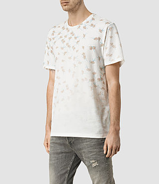 Uomo Aaru Crew T-Shirt (Chalk White) - product_image_alt_text_3
