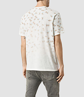 Uomo Aaru Crew T-Shirt (Chalk White) - product_image_alt_text_4