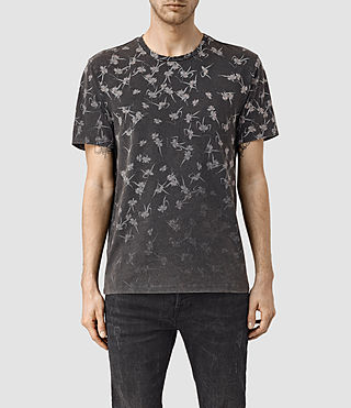 Men's Aaru Crew T-Shirt (Vintage Black) -