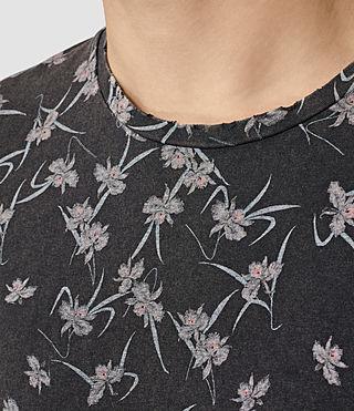 Mens Aaru Crew T-Shirt (Vintage Black) - product_image_alt_text_2