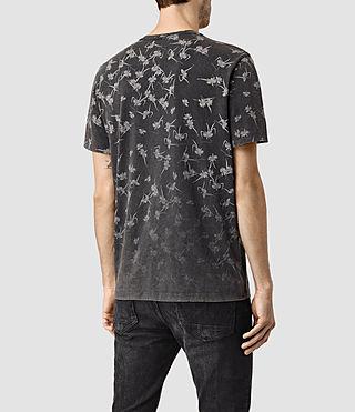 Hombres Aaru Crew T-Shirt (Vintage Black) - product_image_alt_text_4