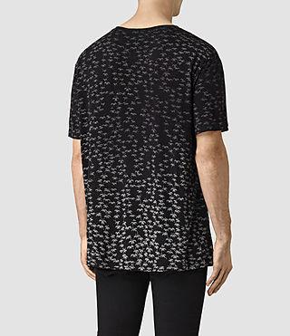 Mens Salix Crew T-Shirt (Vintage Black) - product_image_alt_text_3