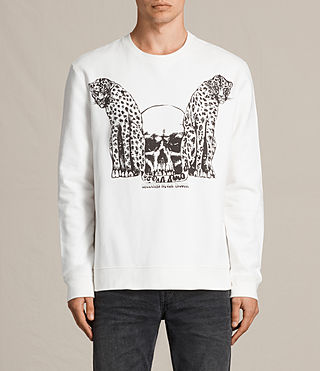 Men's Cheetahs Crew Sweatshirt (Chalk White) - product_image_alt_text_1